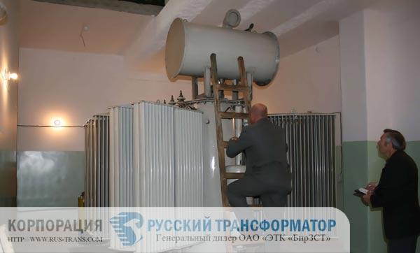 Трансформатор ТМ-6300/10 эксплуатация